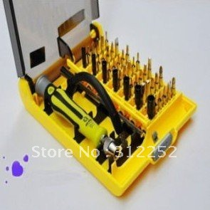 free shipping 45-in-1 Precision Screwdriver Multi-field Repair Tools(China (Mainland))
