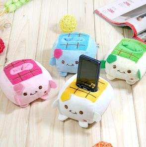 Promotions!! Wholesale High Fashion New Arrival Japan style Tofu mobile phone holder/mobile display stand/Cell phone holder(China (Mainland))