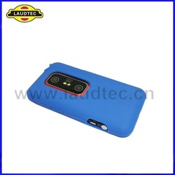 300pcs/lot Colorful Soft Skin Silicone Case Back Cover for HTC EVO 3D+DHL Free Shipping(China (Mainland))