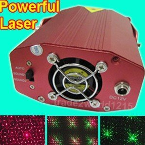 4PCS/LOT Powerful Mini R&G Stage Sound active DJ disco Laser light lighting XR-001 EMS FREE(China (Mainland))