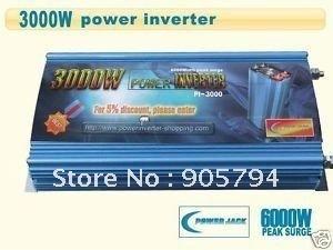 High Quality 3000 Watt Power Inverter 12v DC to 220v AC