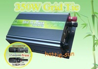 350w / 350watt Grid Tie Inverter 28V-52V DC(A pair of MC4 Connector is for your gift,free shipping)