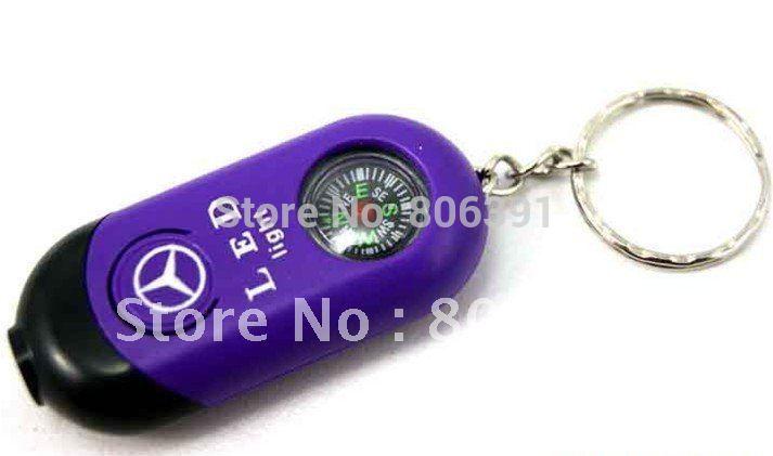 bolso Mini chaveiro bússola, presente relativo à promoção / marca chave do carro cadeia bússola , chaveiro bússola com LED , acampar ferramentas bússola(China (Mainland))