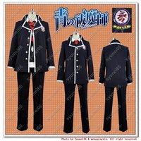 Ao no Blue Exorcist Rin Okumura cosplay costume Woman Man S M L XL XXL Or Custom Made free shipping