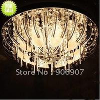 Free shipping LED crystal ceiling living room lighting fixture,G4*8 12V 20W