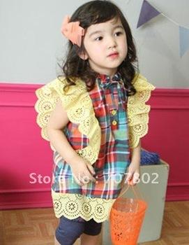 Hot Sale Free shipping High Fashion baby and Kids dress/Girl Dress/Kid's dress