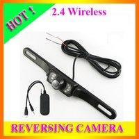 Free shipping Wireless Rear View Back-UP Reversing Car Camera Monitor