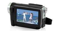 12MP free shipping Camcorder Video Camera Dual Solar Charging HDMI DV-T90+