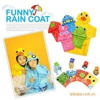 Free Shipping Wholesale LINDA animal Children Raincoat,kids raincoat, Children rainwear