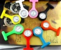 Free Shipping 120pcs/lot Hot sale 100% factory direct sell 2012 fashion silicone nurse watch, doctor watch,medical watch