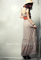 fast shipping wholesale(2pcs/lot) sexy ladies maxi dresses