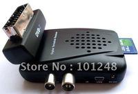 Mini multi media player+ Digital Terrestrial Receiver +PVR+180degree ROTABLE SCART HEAD + Card Slot