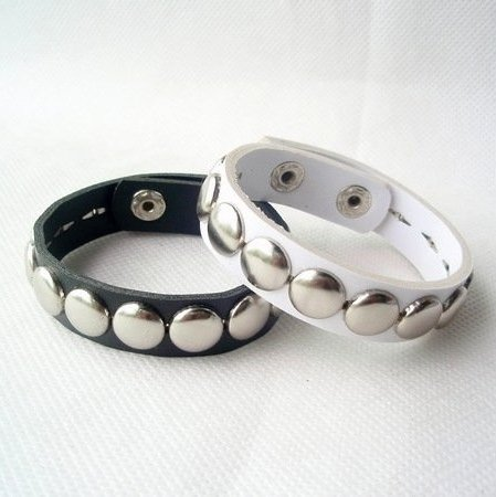 Best selling Fashion very cool 2 colours Punk style multilayer leather bracelet jewelry 50pcs/lot(China (Mainland))