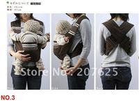 Wholesale 10pcs/Lot Baby Carrier,minizone latest X-type adjustable strap decompression 9color 100% Cotton