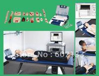 Advanced cardiopulmonary resuscitation, AED defibrillation and trauma Sims,CPR manikin,trauma manikin (computer-control)
