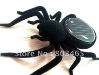 Free Shipping 10pcs/lot solar spider, Educational Eco-friendly, solar gift, Solar Toy
