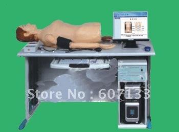 Intelligent digital network physical examination tutoring system, examination system(abdomen touch auscultation, blood pressure