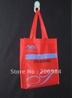 Free shipping /Buy one get one /promotion bag/logo printing/MOQ 500pieces /80gsm fabric