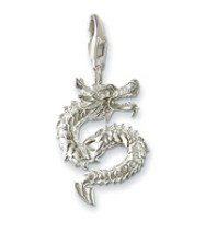 Free Shipping wholesale silver charms pendant.Nice Dragon charm.Good quality.Mix wholesale aceept! Min order:$25.