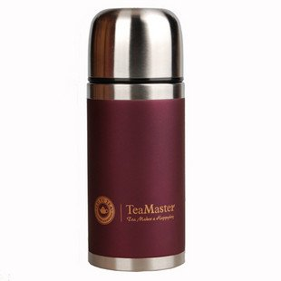 480ml double wall stainless steel vacuum flask ,round.put in your car or office(China (Mainland))