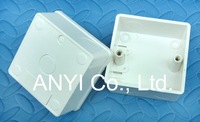 Wholesale 6pcs/lot Internal Mounting Box For Wall Switch, PC Material.100% Quality Assurance,Switch Box! Inquiry Welcome!