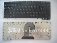 New Notebook Keyboard / Laptop Keyboards Black RU Version For 6510B 6515B