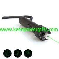 TD-GLP-01B 50mW 532nm Green Laser Pointer Flashlight (3*AAA)