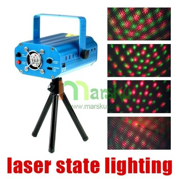 150mW Mini Red-Green Moving Party DJ Laser Stage Light Lighting Projector / free shipping #1586