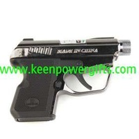 P38 Gun-style 30mW Green Starry Great Kaleidoscopic Laser Pointer (2 x AAA included)