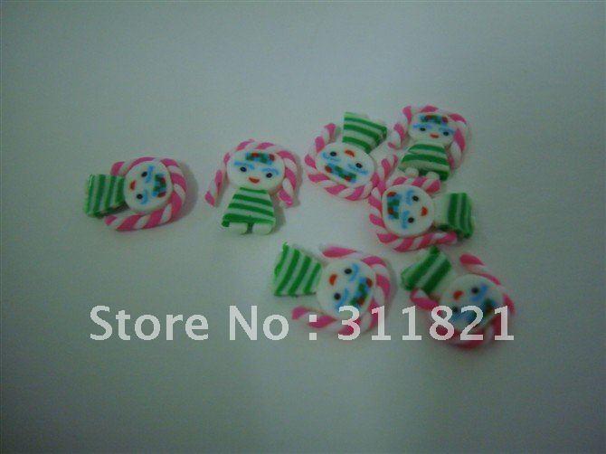 Atacadista menina bonita etiqueta do prego / decoração de unhas + frete grátis(China (Mainland))
