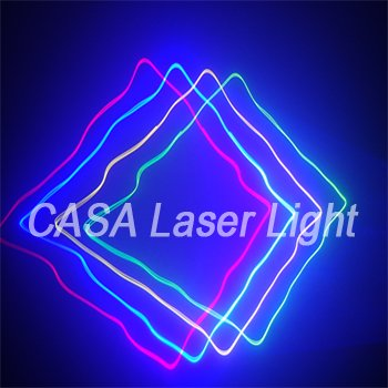 RGYB 800mW  4 Lens 4 Color DJ Laser Disco Light Party Club Christmas Stage Laser Light