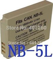 1400MAH Camera Battery For Canon NB-5L NB5L SD950 SD900 SD990 890 870