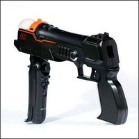 Free Shipping+Precision Shot Pistol Gun for Playstation 3 PS3 Move