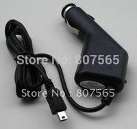 100 pcs GPS 5 pin Car Charger For Garmin Nuvi 850 855 855T 880 885T Free DHL