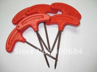 Torx key T type red color T8