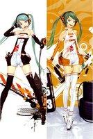 Vocaloid Hatsune miku Redjuice miku Dakimakura Case #356