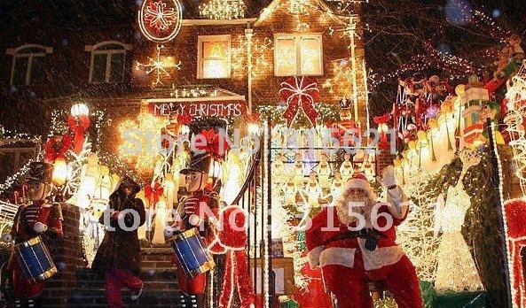 Free shipping 5m,100PCS lights LED Christmas lamp,christmas light ,strip light ,(China (Mainland))
