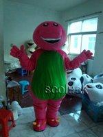 For Sale!! Popular Purple Barney Cartoon Mascot Costume Adult Size High School