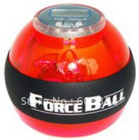 2014 hot ! Wholesale 4pcs/lot Power seller+Free shipping gym ball with Led & counter for body building