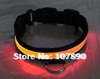 20% discount DHL UPS 100pcs/lot flashing LED dog collar, led pet collar