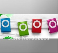 Wholsale hot sale Clip Mp3 player with card slot mini mp3 player free shipping