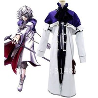 Pandora Hearts Xerxes Break Cosplay Costume+Free Shipping