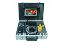 "FREE SHIPPING Sony 420TVL  7"" LCD underwater Camera + 50m cable S39"