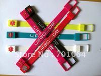Free shipping: 100pcs/lot 4GB bracelet USB flash drive
