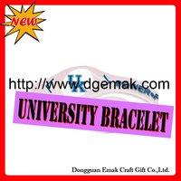2011 Hot food grade University Bracelet,Original authentic,Factory Direct-KENTUCKY-WILDCATS