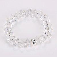 Free shipping by HK post! Wholesale crystal charm bracelet .fashion bracelet.925 sterling silver jewelry IMG2062