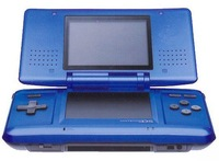 free shipping new video game player with 60 games blue