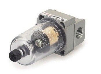 "AF2000-01 Mini Pneumatic Air Filter 750L/min Flow 1/8"" Port AF Series"