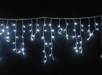 Wholesale: Halloween light-- -WHITE 20pcs/lot 120 LED ICICLE lights Party Xmas in /outdoor,Christmas