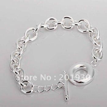 wholesale silver bracelet,t/o lock fashion silver bracelet BBB053
